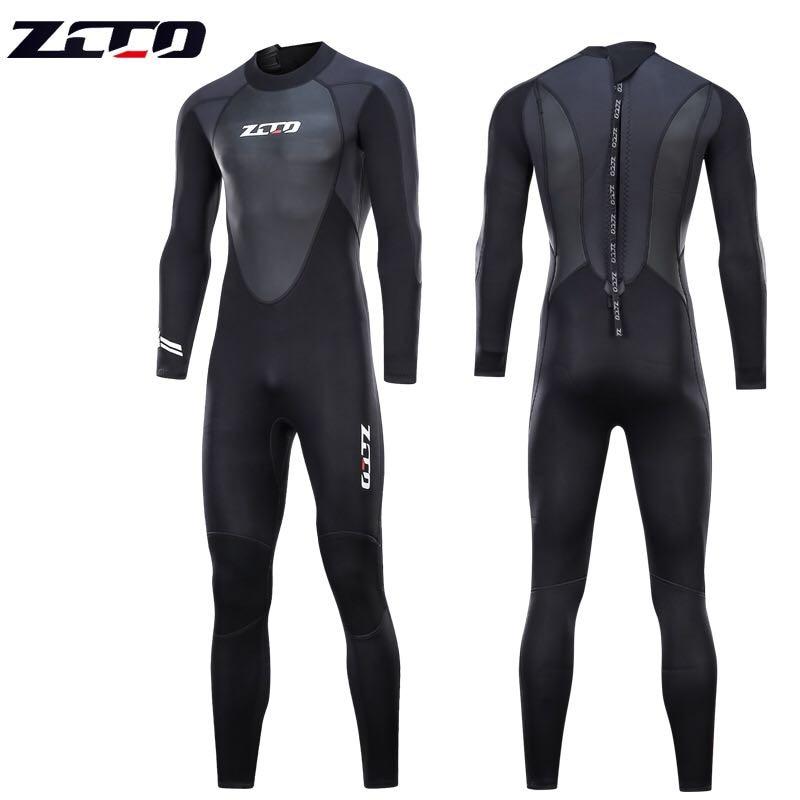 Новый гидрокостюм для дайвинга для мужчин 3 мм гидрокостюм неопреновый купальный гидрокостюм для серфинга Триатлон мокрый костюм купальни...