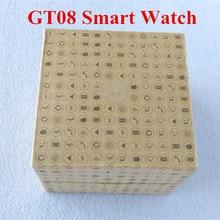 HEIßER Verkauf! Bluetooth Smart Gesundheit GT08 Smart Uhr Mit Sim-karte Smartwatch Für Apple Samsung Tragbares Gerät gt08