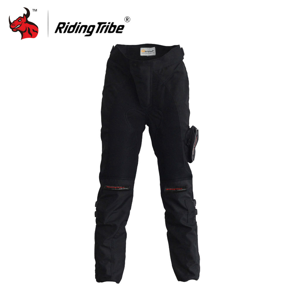 цена Riding Tribe Moto Pants Motorcycle Racing Long Pants Black Moto Motocross Protective Motorbike Off-Road Riding Pants Trousers