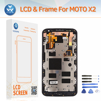 Yezone AAA LCD Screen For Motorola MOTO X2 XT1092 XT1095 XT1097 LCD Display Touch Digitizer Frame