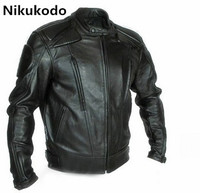 Fashion motorcycle PU jacket motocross motorcycle moto protective jacket male riding jacket with removable 5 sets of equipment