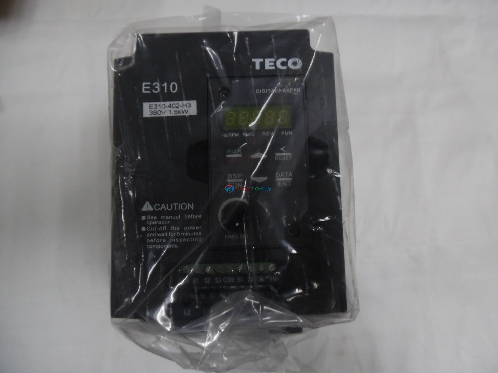 NERW In BOX TECO Inverter VFD E310 Series E310-402-H3 2HP 1500W 3 phase 380~480V 50/60Hz madam t madam t ma422ewepc37