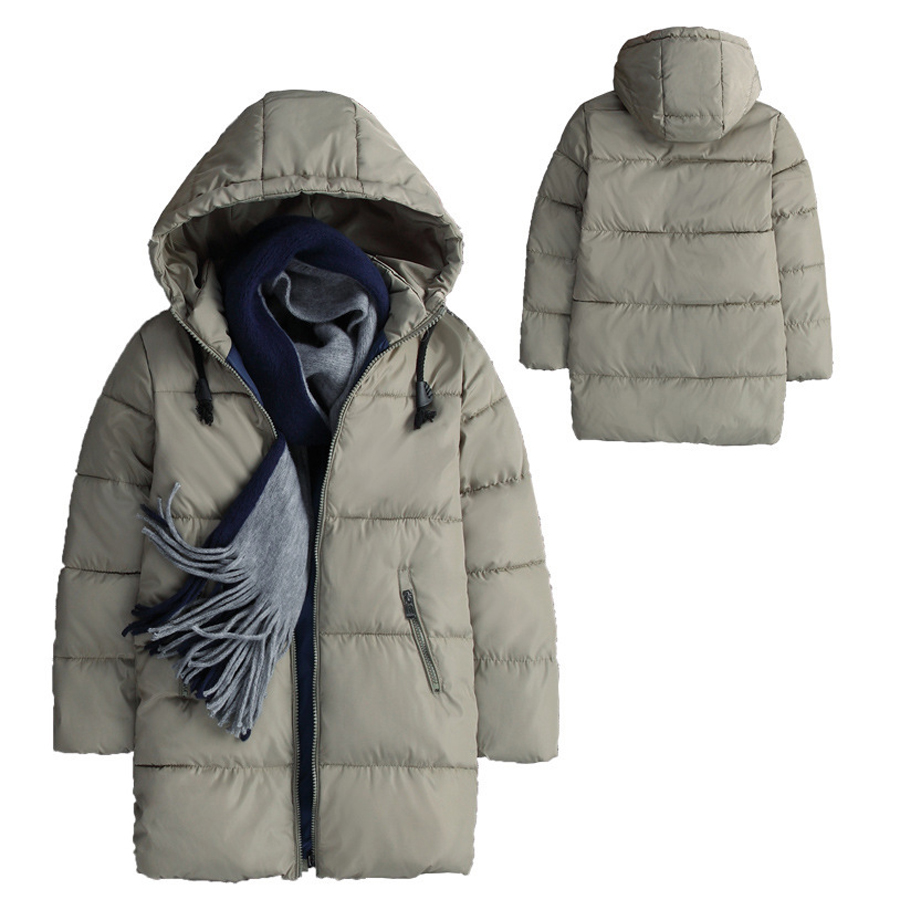 Boys Coats Hooded Winter Thicken Outwear Puffer Jacket Big Boys Winter Parka Coat Puffer Jacket Padded Overcoat with Hood saf thicken warm winter coat hood parka overcoat long jacket outwear