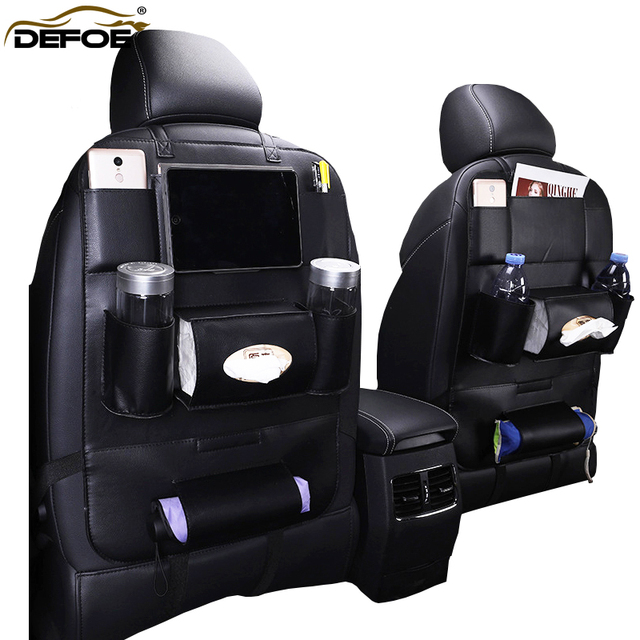 New Design Fashion Car seat storage bag car seat back bag car styling Multifunction bag child safety seat car steat back bag