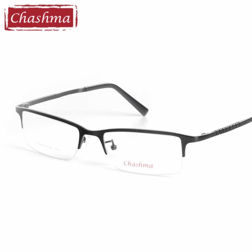 8478bc2a3c3 ... Chashma Myopia Glasses Frames Quality Eyewear Men Frame Pure Titanium  Ultra Light Frame for Men Nickel ...