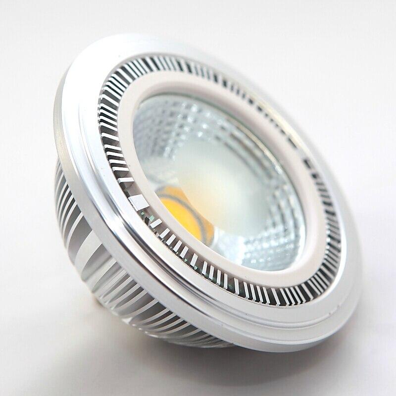 16 шт. <font><b>LED</b></font> AR111 spotlight затемнения 10 Вт 15 Вт GU10 <font><b>G53</b></font> лампочки с бликов дизайн AC85-265V /DC12V 100 Вт галогенные эквивалентно,