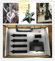 Universal Diesel Common Rail Tool Fuel Injector Fix Adapter Fixture Clamping Repair Kits, common rail injector clamp tool