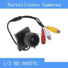Высокая производительность 1/3 «600TVL F1.4 CMOS CCTV мини Камера 2.8-12 мм объектив с переменным фокусным расстоянием Камеры Скрытого видеонаблюдения CCTV