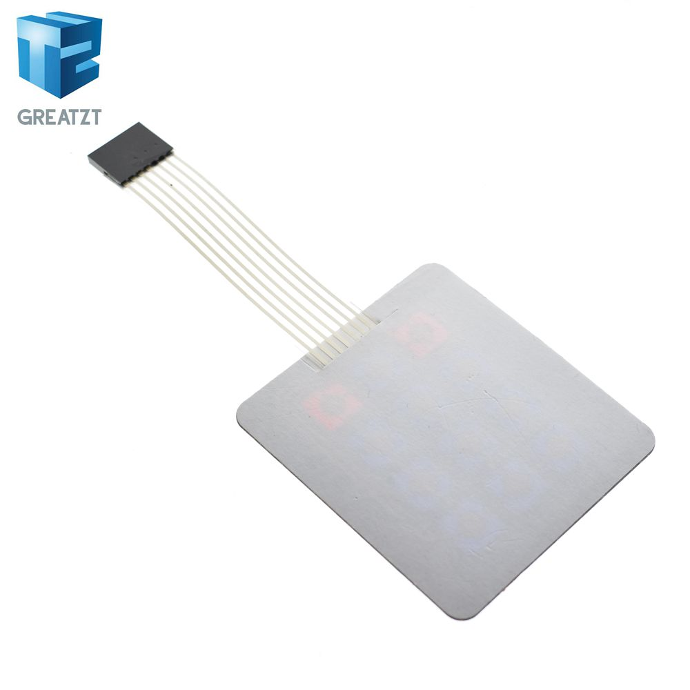 Integrated Circuits Back To Search Resultselectronic Components & Supplies Tzt 1pcs Matrix Array 12 Key Membrane Switch Keypad Keyboard For Arduino Avr 4 X 3 In Selling