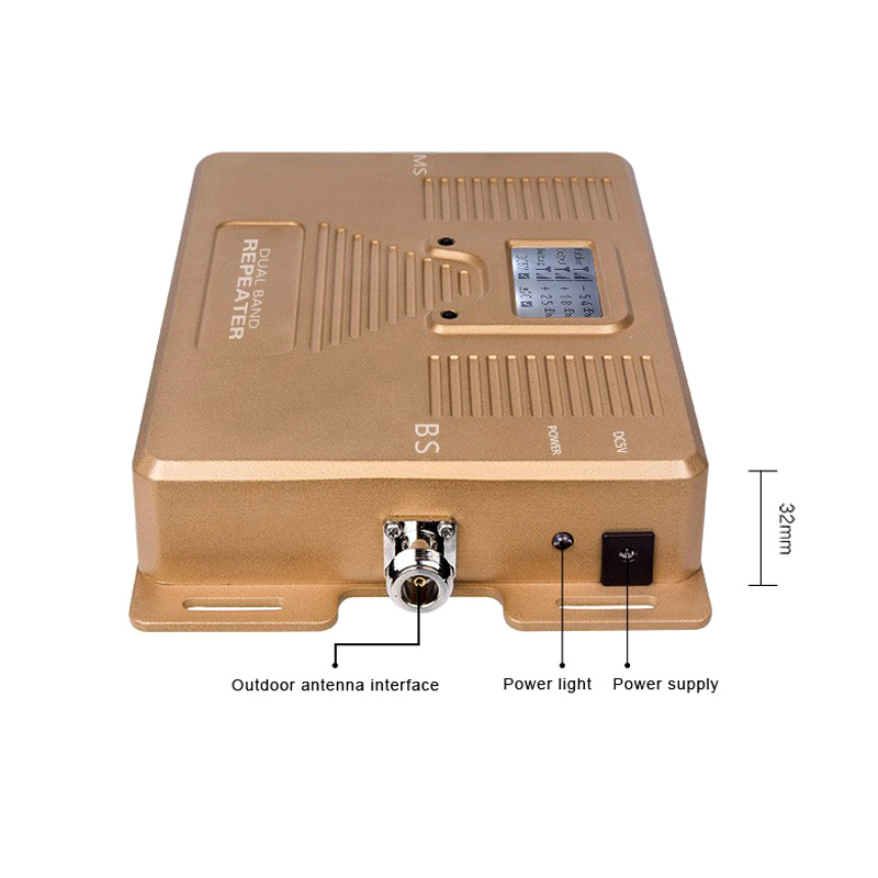 Image 5 - Full Smart 4G LTE 800 mhz B20 GSM 900 mhz Mobile Phone Signal Booster GSM LTE 4G Cell Phone Cellular Signal Repeater Amplifier-in Signal Boosters from Cellphones & Telecommunications