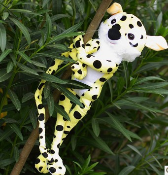 Free shipping  On the trail of the Marsupilami plush toy ,leopard soft stuffed toy Christmas gift marsupilami