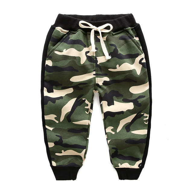 3d8b136a8cf33b 2018 spring kids Camouflage pants boys cottons Leisure tracksuits girl  leggings toddler Leisure camo pants kids bloomers clothes