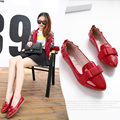 2016 new casual 3 colours flat heel women shoes woman bow sweet women flats big plus size 35-40 zapatos mujer