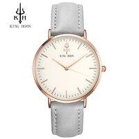 Luxury Brand KING HOON Men S Women Dress Watches Fashion Nylon Casual Sport Quartz Watch Montre