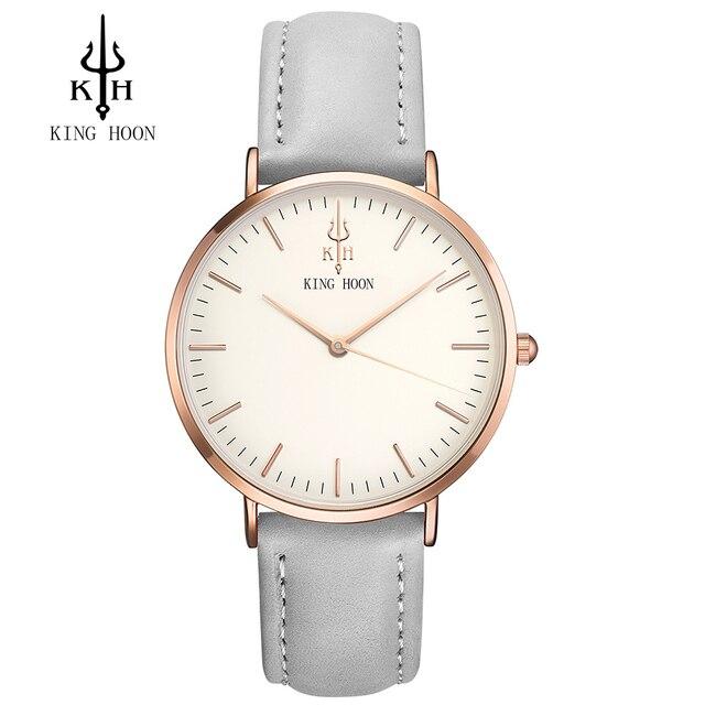 Luxury Brand KING HOON Men's Women Dress Watches Fashion Nylon Casual Sport Quar