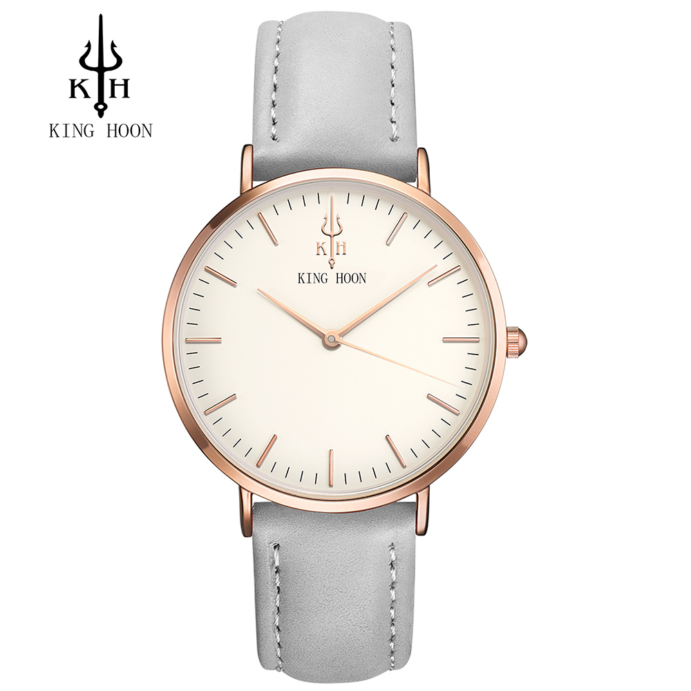 Luxury Brand KING HOON Men's Women Dress Watches Fashion Nylon Casual Sport Quartz Watch Montre Femme Clock Relogio Masculino