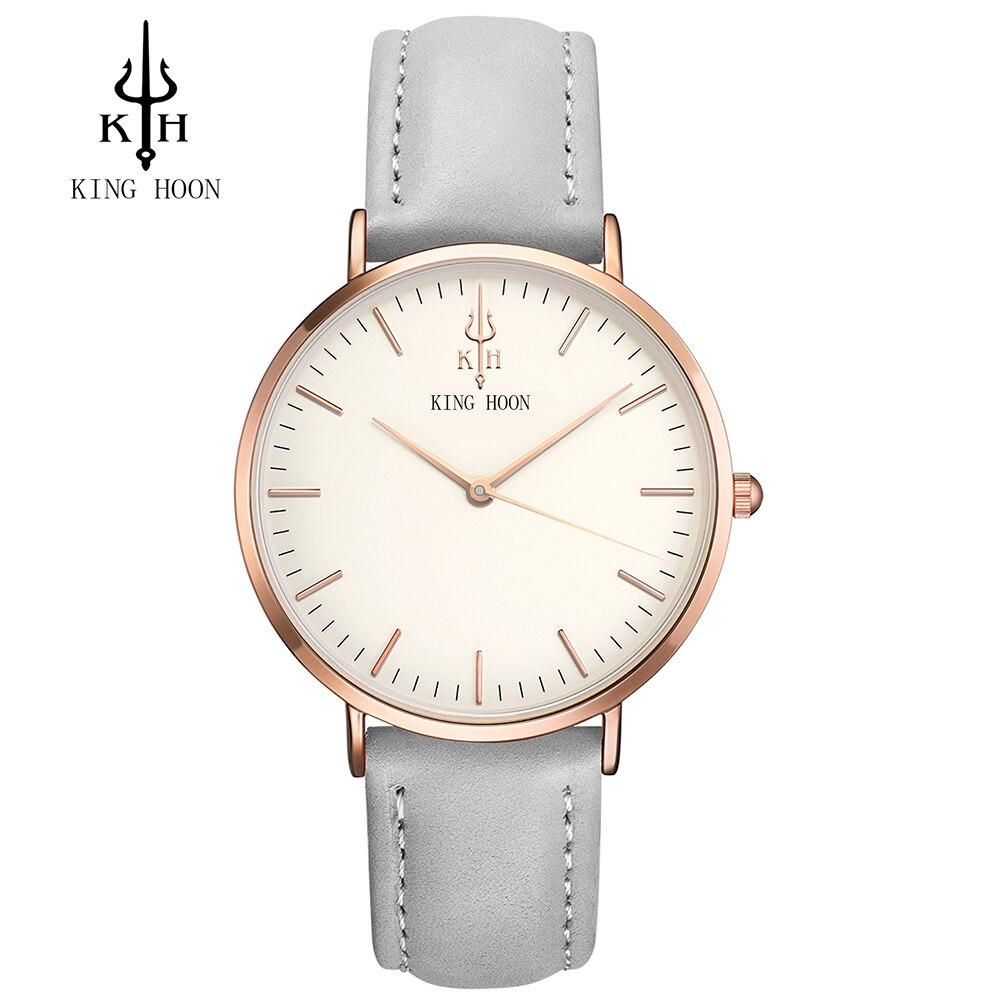 Luxus Marke KÖNIG HOON Männer frauen Kleiden Uhren Mode Nylon Casual Sport Quarzuhr Montre Femme Clock Relogio Masculino