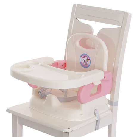 Pink Bebe Style Portable Baby Dining Booster Seat//Chair