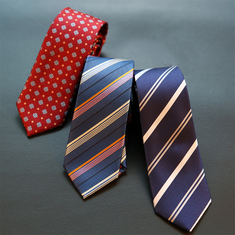Blue Grey With English Rose Style Pattern 100/% Polyester Tie Men/'s Necktie