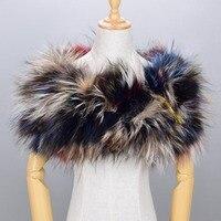New Arrival Fashion Women S Real Fox Fur Pashmina Luxury Full Fox Fur Shawl Top Grade