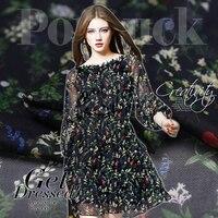 Chiffon Silk Fabrics Summer Perspective Dress Clothing Silk Fabric 100 Silk Fabrics Wholesale High Quality Silk