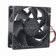 1Pcs Gdstime 12038 12cm 120mm 48V 0.15A Double Ball Bearing Server Cooling Fan