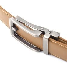 Light Brown Genuine Leather Belt