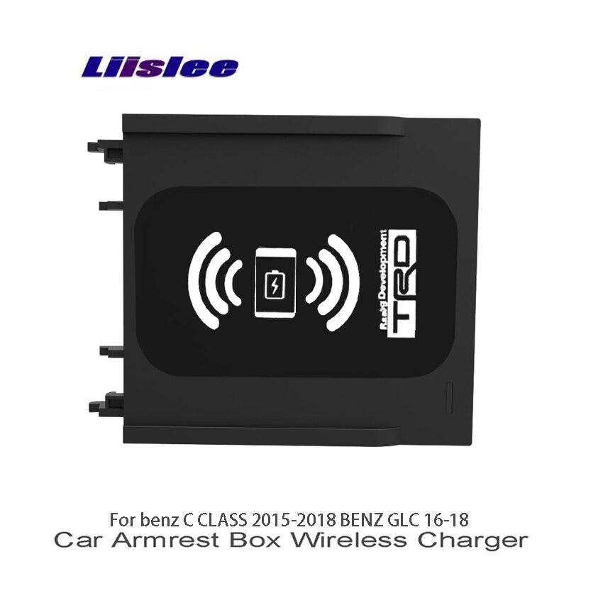 Liislee автомобилей разное Box Car Зарядное устройство Wi Fi Зарядное устройство для хранения Mercedes Benz C CLASS W205 S205 C205 A205 BENZ GLC X253 C253