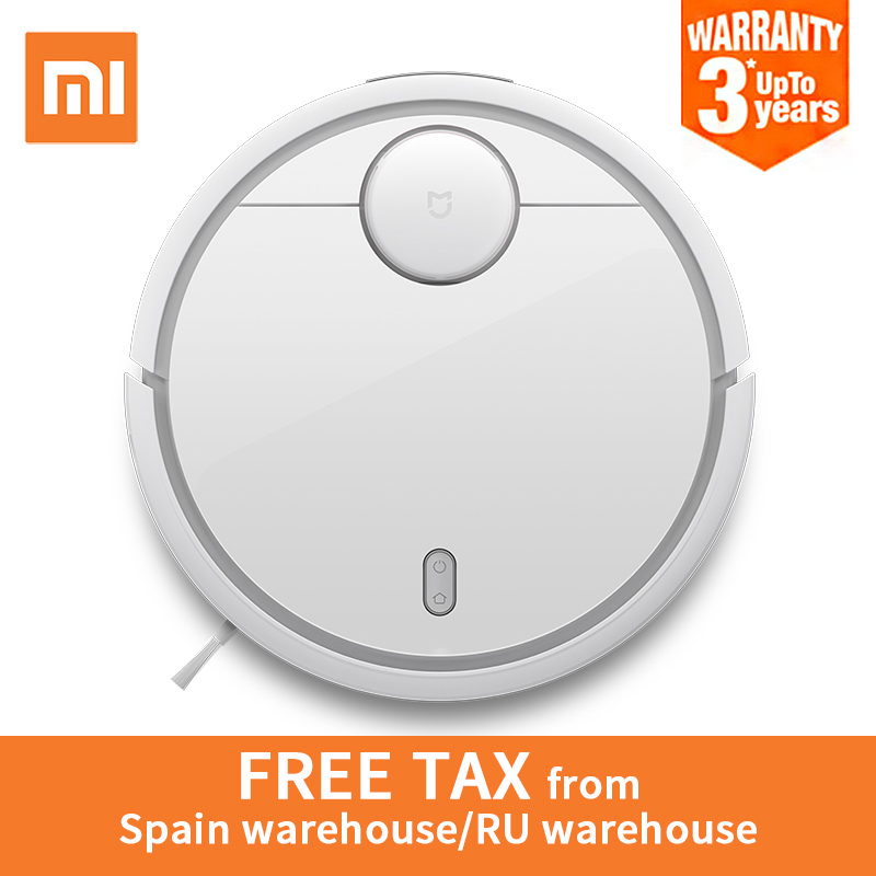 Global Version Original XIAOMI MI Robot Vacuum Cleaner MI Robotic Smart Planned Type App Control Auto Charge LDS Scan Mapping(China)