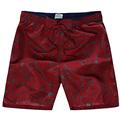 Beach Shorts Men Polo Red Printed Male Board Shorts Brand Male Boardshorts Quick Dry