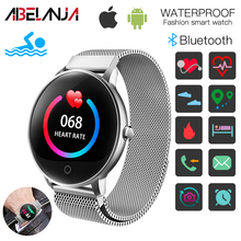 Fitness Tracker, O8 Colorful Screen Bluetooth  Smart Watch with Steps Counting Sleep Heart Rate blood pressure Monitoring