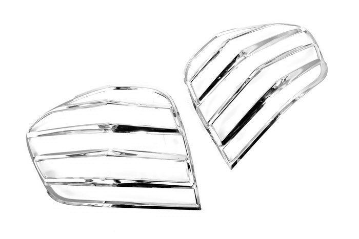 High Quality Chrome Tail Light Cover for Mercedes Benz W164 ML Class free shipping стоимость