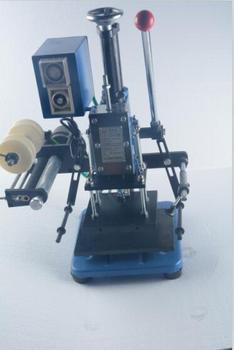 LZ-170-C Manuale hot stamping macchina/biglietto da visita/pelle/plastica/carta Cordonatura, marcatura stampa, goffratura macchina (16x15 cm)
