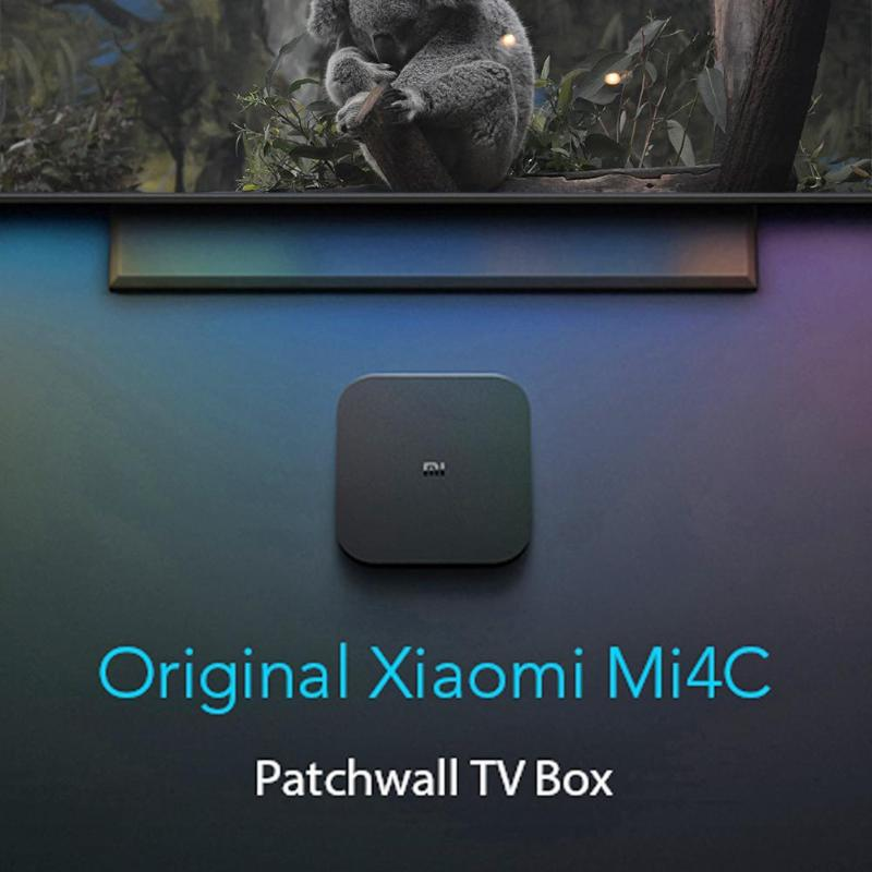 Image 3 - Xiaomi Mi Box 4C 4K HDR TV Box Android 6.0 Amlogic Cortex A53 