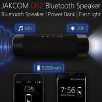 Jakcom OS2 Outdoor Bluetooth Speaker Wireless Bicycle 5200mAh Power Bank Super Bass Loudspeaker Music Player LED