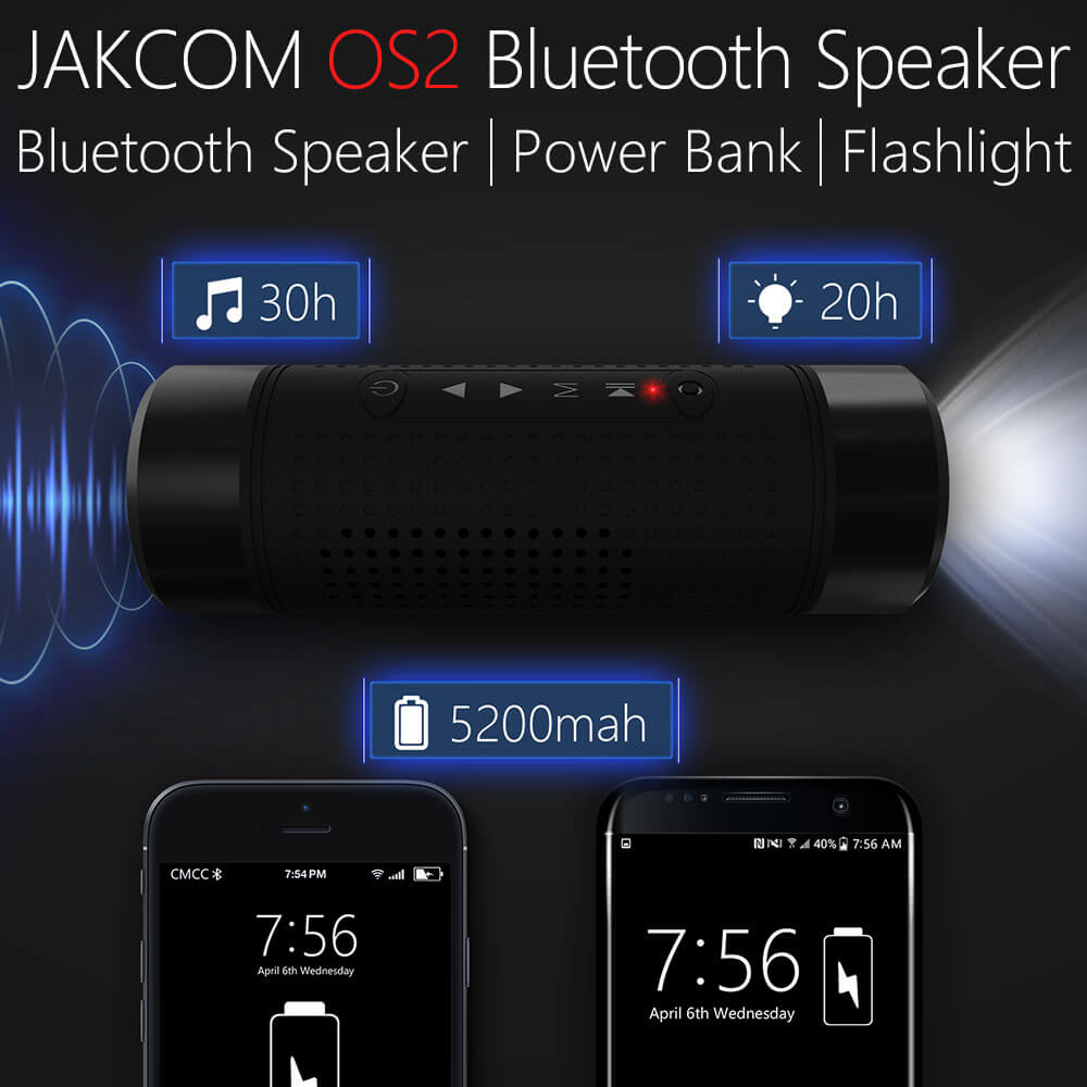 Jakcom OS2 Outdoor Bluetooth Speaker Wireless Bicycle 5200mAh Power Bank Super Bass Loudspeaker Music Player LED