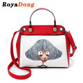 RoyaDong 2017 Women Shoulder Bags High Quality Fashion Vintage Women's Handbags Girls Printing Crossbody Bags For Women