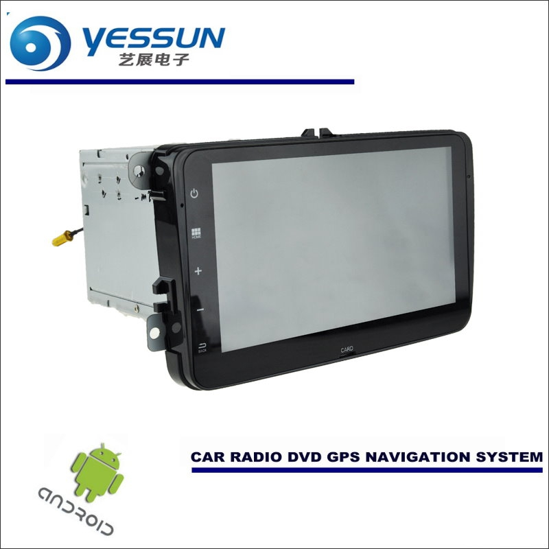 YESSUN Car Android Navigation Radio Stereo CD DVD Player GPS Navi BT HD Multimedia - For Volkswagen VW Passat B6 / B7 / CC / NMS