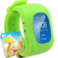 Ребенок Smartwatch GPS Трекер Детей Smart Watch Anti Потерянный Рождественских Подарков Игрушки Электроника Часы для Детей Девушки Парни Q50