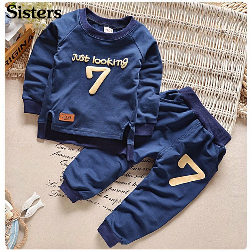 Free 2-6 Autumn Children Clothing Sets Boys Girls Warm Long Sleeve Sweaters+Pants Fashion Kids Clothes Sports Suit for Girls children autumn and winter warm clothes boys and girls thick cashmere sweaters