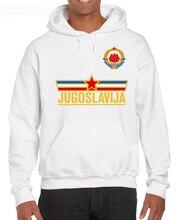 2019 New Fashion Men Casual Brand Clothing High Quality Male Yugoslavia Team - Royal Cosplay Hoodies Sweatshirts