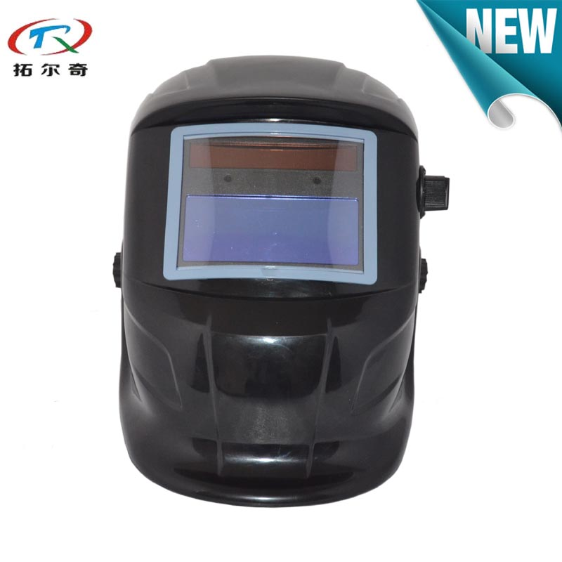 Portable automatic dimming welding helmet for welding machine solar shading 9-13 adjustable QS01 with 2233de