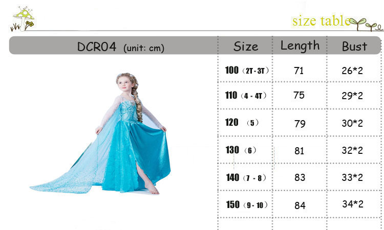 HTB1aHriXN2rK1RkSnhJq6ykdpXar Tiange Wedding Elsa Anna Dress Girls Costume Cute Party Princess Cosplay Baby Dresses Children's Christmas Birthday Set Clothes