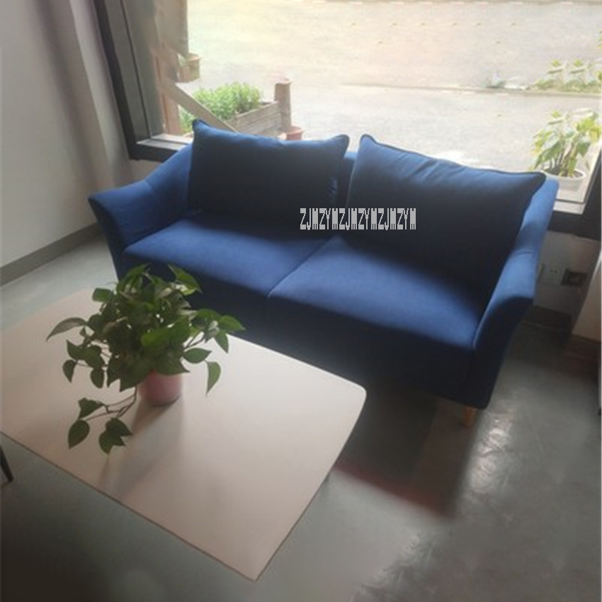 Apartment Couch Love Seat Simple Living Room Furniture 2 Seat Sofa Relaxing Sofa Chair For College Dorm Bedroom Studio