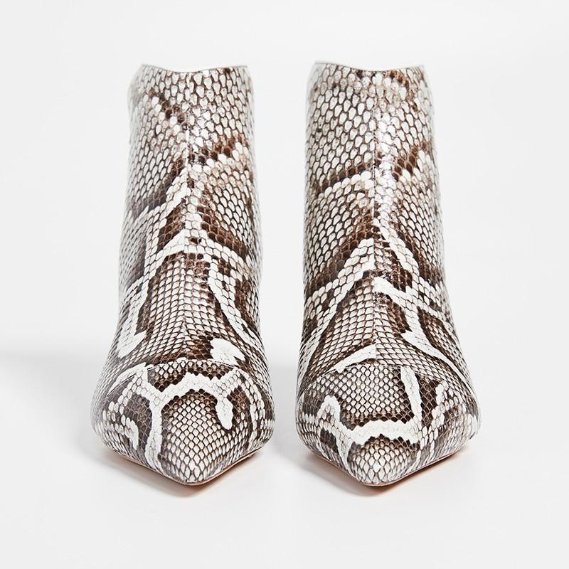 Tacón Gatito Vestido Cremallera Moda Ty01 Barato Zapatos Bota Tamaño Para Botas Serpiente Gran Punta Mujer Fiesta Imprimir De Bajo pwHcIEq