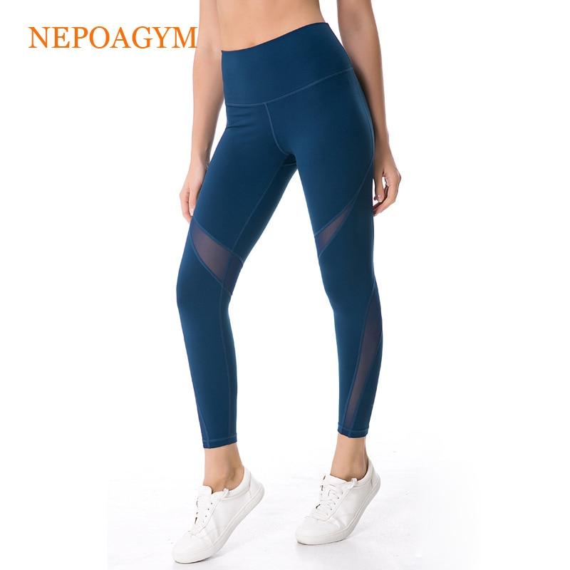 Aliexpress.com : Buy Nepoagym Women Mesh Panel Sport Pant