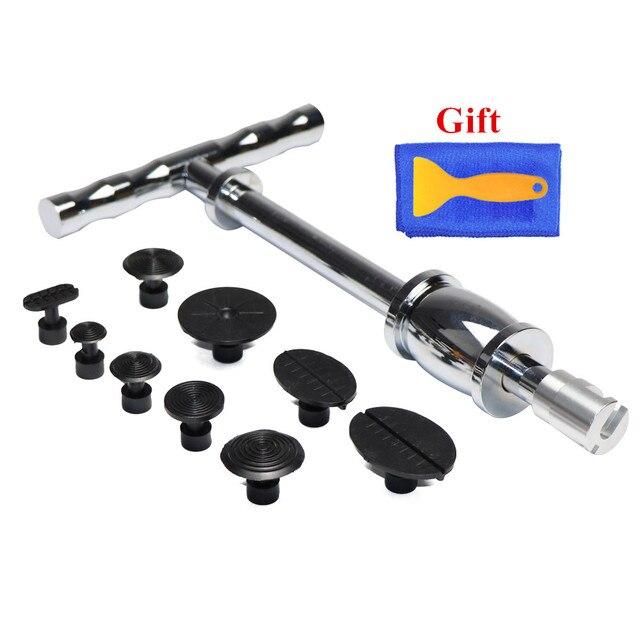 Dent Removal Paintless Dent Repair Tools Hail Damage Repair Tools Dent Puller Kit Slide Hammer Glue Tabs free gift