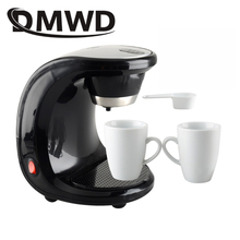 DMWD American automatic drip coffee maker teapot tea boiler mini Household Electric pump pressure cafe Coffee machine 110V 220V