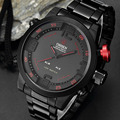 Men's Watches OHSEN Brand Watch LED Digital Wristwatches Luxury Full Steel Watch Sport Military Quartz Watches Relogio Masculino