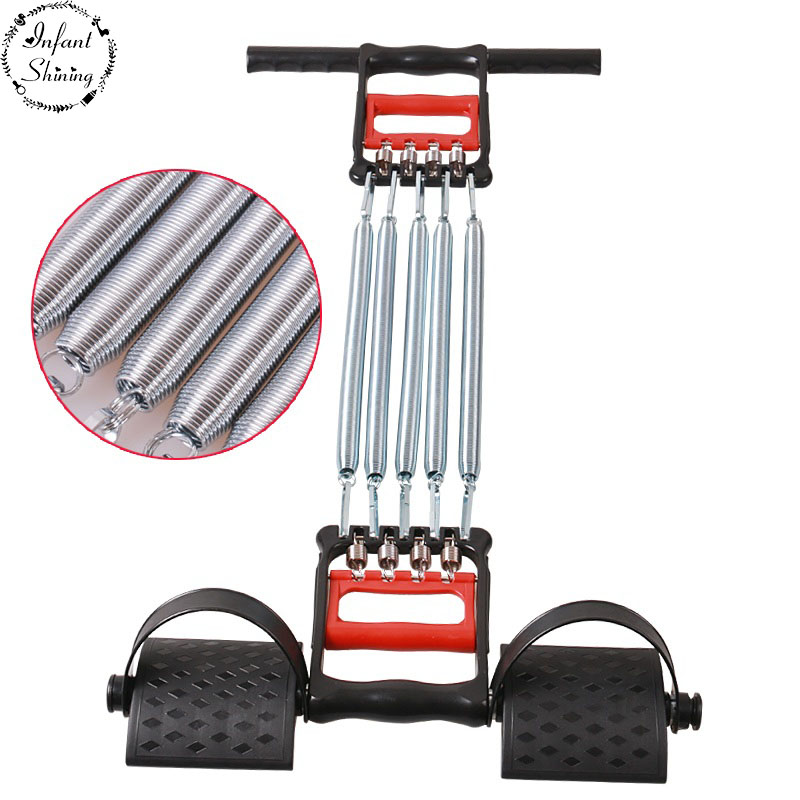 Multi-Functional Spring Cable Machine Chest Expander Grip And Arm Strength Is Male Chest Muscle Training Sports Fitness Sit-ups
